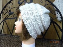 Photo of Handmade knit alpaca hats