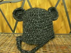 Photo of Alpaca and Acrylic Teddy Hat