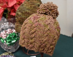 Photo of Alpaca Hat - Hand Dyed