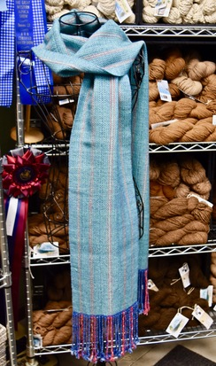 Photo of Woven Scarf - Fringed