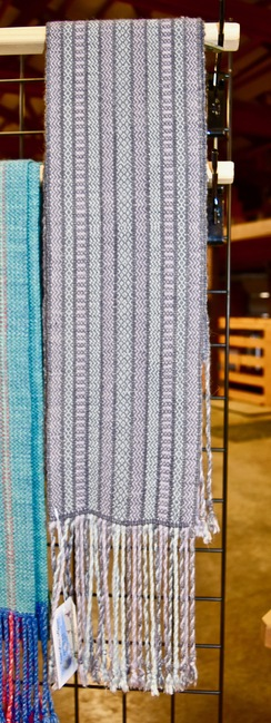 Photo of Fringed Woven Scarf