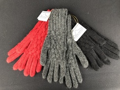 100% Superfine Alpaca Gloves