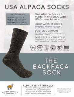 Backpaca Socks