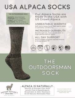 Outdoorsman Socks
