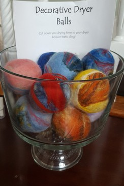 Fancy & Colorful Alpaca Dryer Balls