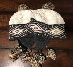 Knitted Alpaca Chullo