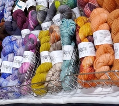 100% Alpaca Yarn Hand Dyed