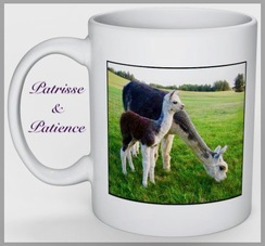 Photo of MUGS: Patrisse & Patience.