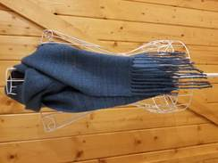 Handwoven Scarf - Teal