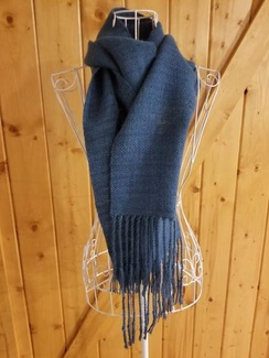 Photo of Handwoven Scarf - Teal