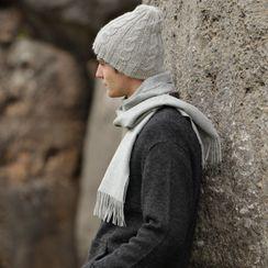 Reversible Trenza Alpaca Hat