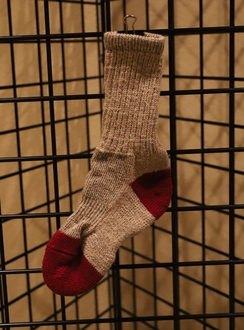 Red Granite Branded Alpaca Socks