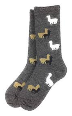 Kid's Alpaca Herd Socks