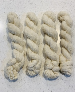 Photo of Lovely light colored yarn