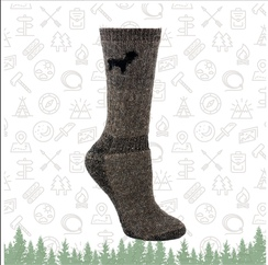 Outdoorsman sock
