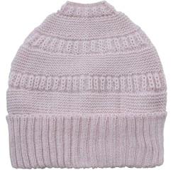 Ponytail stocking cap