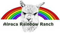 Alpaca Rainbow Ranch - Logo