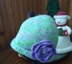 Photo of Felted Alpaca Hat
