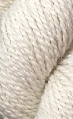 3 Ply Worsted Yarn Natural
