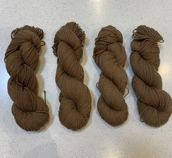 Pretty brown yarn