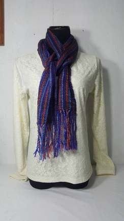 Photo of Woven Scarf, Suri Alpaca
