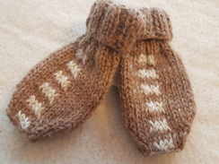Photo of Alpaca Baby Mittens