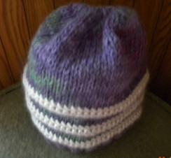 Photo of Alpaca handknit hat