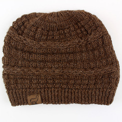 Photo of Textured Alpaca Slouch Beanie