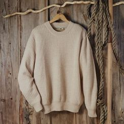 MEN'S SIGNATURE ALPACA CREW NECK