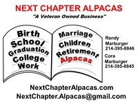 Next Chapter Alpacas - Logo