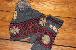 Photo of Mountain Alpaca Hat & Fingerless Gloves