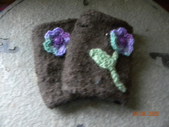 Photo of Felted alpaca handwarmers