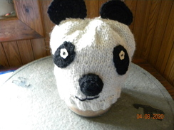 Photo of Panda Hat