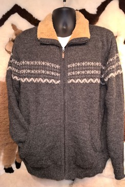 Men's Fleece Lined Sweater