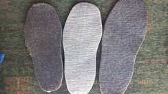 Photo of Felted Alpaca Fiber Insoles