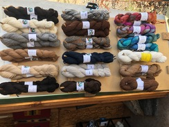 Photo of Alpaca Yarns from the Farm