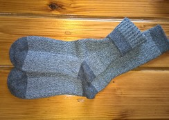 Photo of Alpaca Boot Unisex Socks