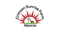 Crimson Sunrise Farm Alpacas - Logo