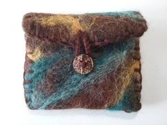 Photo of Heartfelt Wallet -  Charley, Teal & Yllw