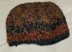 Multicolored Cloche