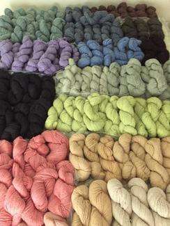 Blended Yarn - Alpaca/Super-Fine Mohair