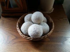 Variety of Dryer ball sets on etsy