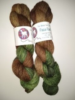 Camo Yarn - Alpaca Paints (100%)