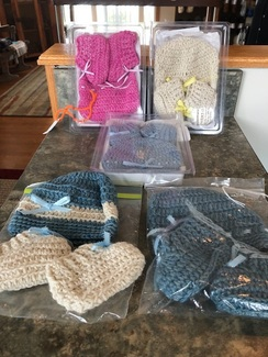Baby Hat and Booties Set