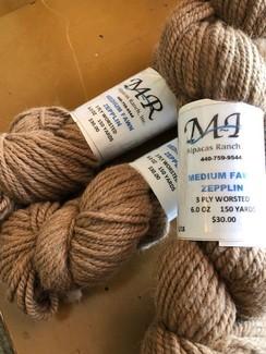 Alpaca Yarn Medium Fawn-Zepplin