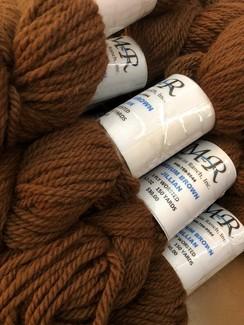Alpaca Yarn Medium Brown Jillian