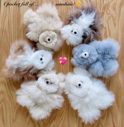 "Photo of TOYS: ""Pocket"" Alpaca Teddy Bears"