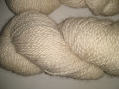 Photo of Cream Silk Yarn