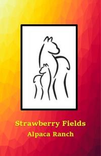 STRAWBERRY FIELDS ALPACA RANCH - Logo