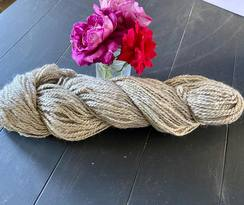Photo of Suri yarn blended w 20% huacaya
